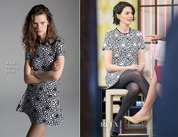 Anne Hathaway In ALC - The Today Show