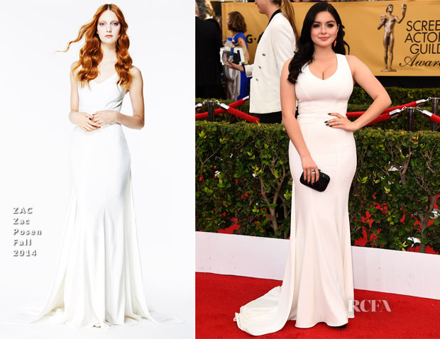 Ariel Winter In ZAC Zac Posen - 2015 SAG Awards