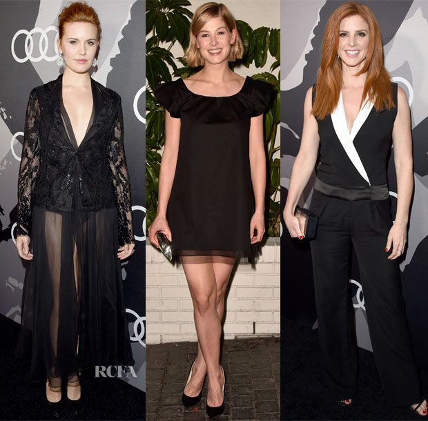 Audi and W Magazine's Golden Globe Parties 4