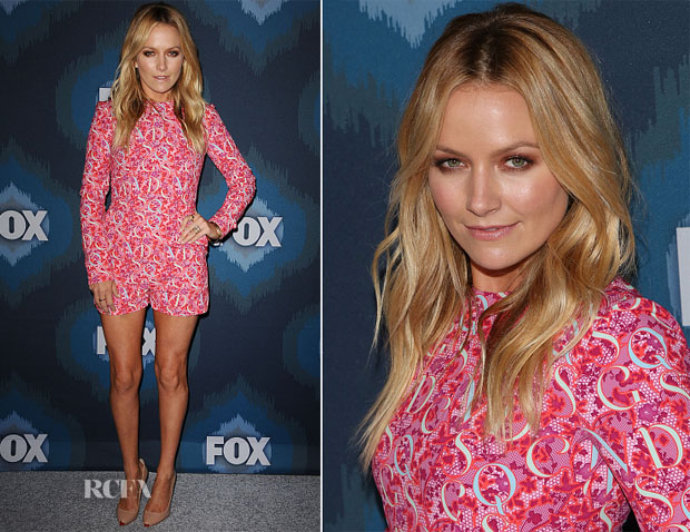 Becki Newton In Mary Katrantzou - FOX Winter TCA All-Star Party