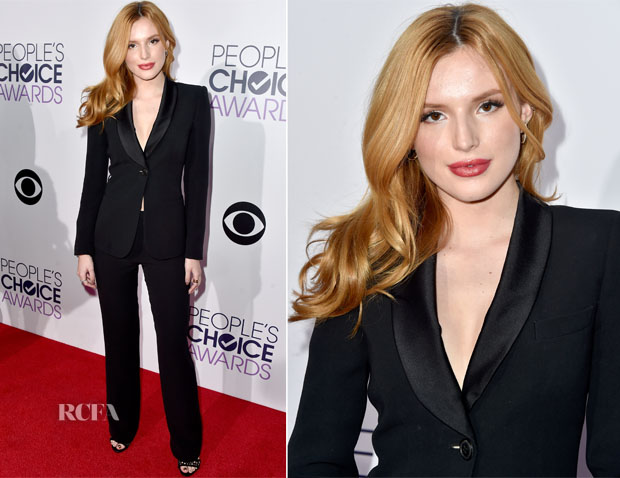 Bella Thorne In Giorgio Armani - 2014 People's Choice Awards