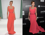 Camilla Belle in Carolina Herrera - 2014 amfAR LA Inspiration Gala copy