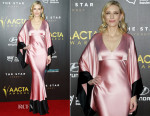 Cate Blanchett In Alexander McQueen - 4th AACTA Awards Ceremony