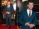 Chris Hemsworth In Dolce & Gabbana - 'Blackhat' LA Premiere