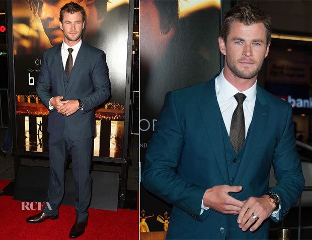 Chris Hemsworth - 'Blackhat' LA Premiere