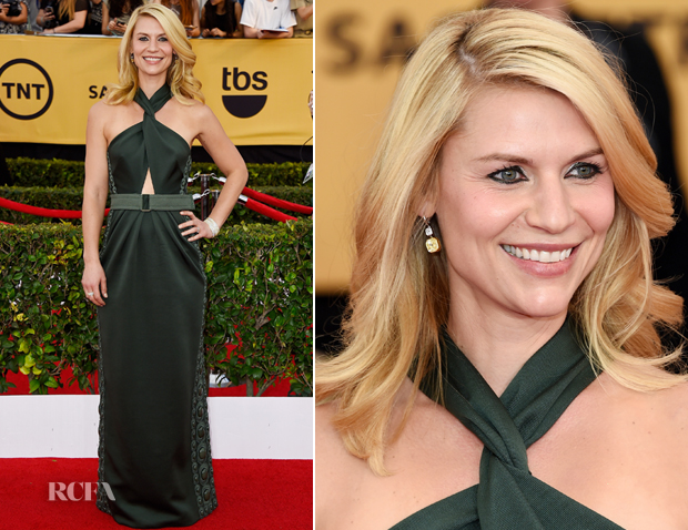 Claire Danes In Marc Jacobs - 2015 SAG Awards