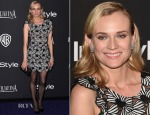 Diane Kruger In Giamba - 2015 InStyle and Warner Bros. Golden Globe Awards Post-Party