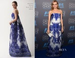 Diane Kruger In Naeem Khan - 2015 Critics' Choice Movie Awards