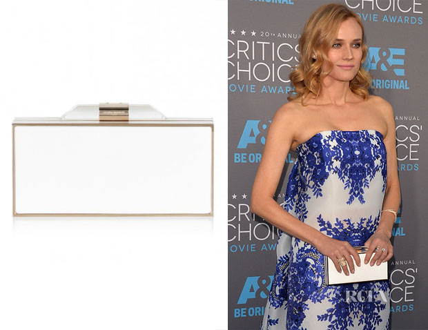 Diane Kruger's Amanda Wakeley The Beatty Box Clutch