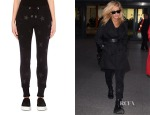 Ellie Goulding's Zoe Karssen Stars Leather-Patch Jogging Bottoms
