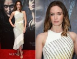 Emily Blunt In David Koma - 'Into The Woods' London Gala Screening