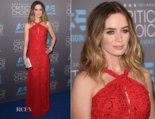 Emily Blunt In Emilio Pucci - 2015 Critics' Choice Movie Awards