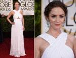 Emily Blunt In Michael Kors - 2015 Golden Globe Awards