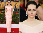 Felicity Jones In Balenciaga - 2015 SAG Awards