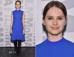 Felicity Jones In Louis Vuitton - 'The Theory of Everything' New York Screening