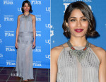 Freida Pinto In Mason by Michelle Mason - 30th Santa Barbara International Film Festival Opening Night Presentation of 'Desert Dancer'