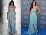 Genesis Rodriguez In Reem Acra - 2015 Critics' Choice Movie Awards