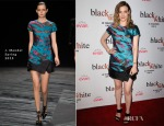 Gillian Jacobs In J Mendel - 'Black or White' LA Premiere
