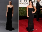 Gina Rodriguez In Badgley Mischka - 2015 Golden Globe Awards