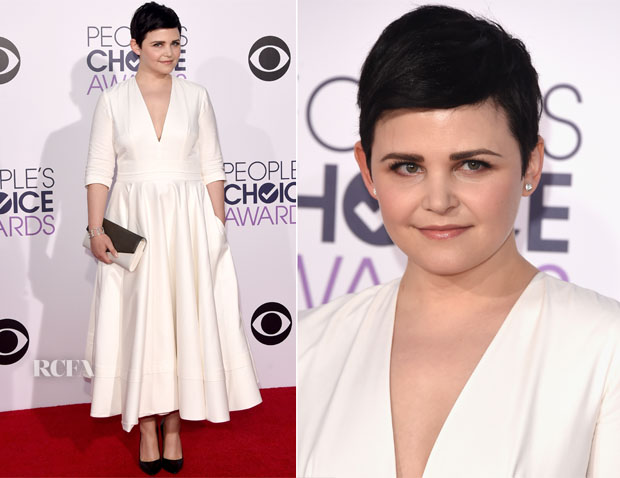 Ginnifer Goodwin In Delphine Manivet -  2014 People's Choice Awards