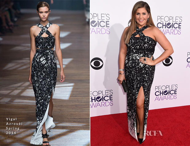 Hillary Scott In Yigal Azrouël - 2014 People's Choice Awards