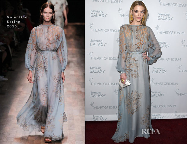 Jaime King In Valentino - 2015 Art Of Elysium HEAVEN Gala