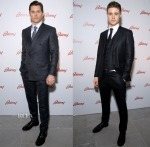 James Marsden & Max Irons In Brioni - Brioni Milan Menswear Fashion Week Dinner Party