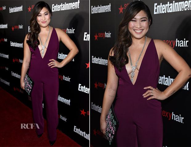 Jenna Ushkowitz In Style Stalker - Entertainment Weekly's Party Honouring The SAG Nominees