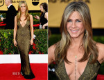 Jennifer Aniston In Vintage John Galliano - 2015 SAG Awards