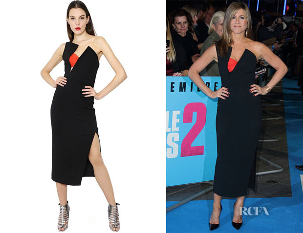 Jennifer Aniston's Antonio Berardi Asymmetrial Bustier Dress