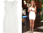 Jennifer Aniston's Saint Laurent Crepe Mini Dress