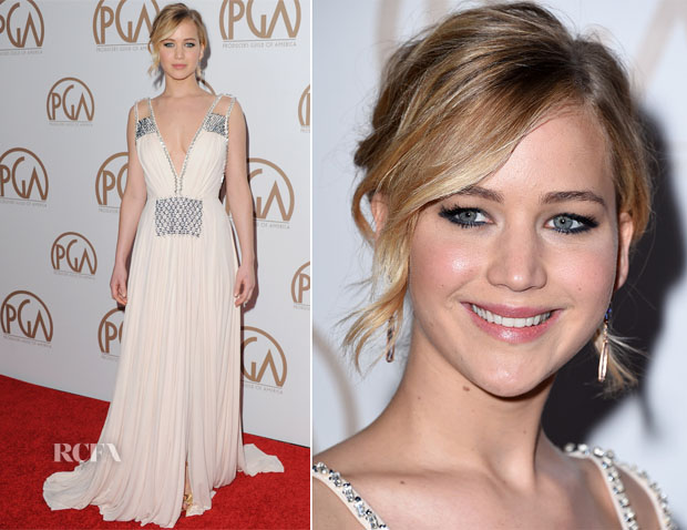 Jennifer Lawrence In Prada - 2015 Producers Guild Awards