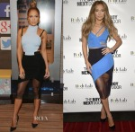 Jennifer Lopez In David Koma - Despierta America & 'The Boy Next Door' Miami Screening
