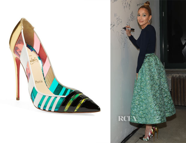 Jennifer Lopez's Christian Louboutin 'Bandy' Pumps
