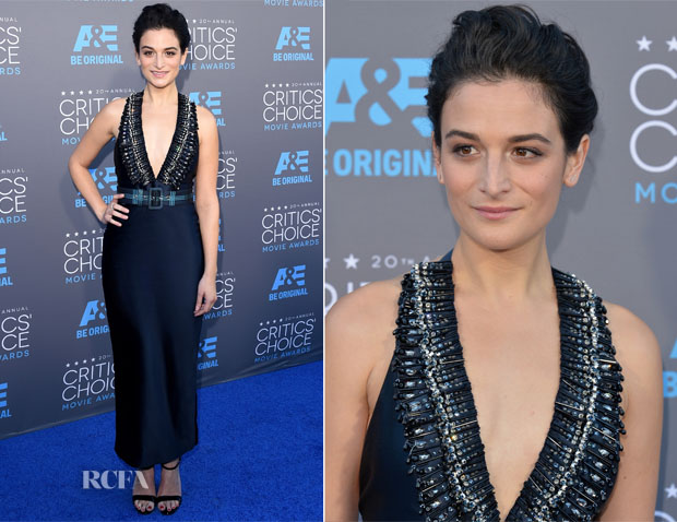 Jenny Slate In Miu Miu -  Critics' Choice Movie Awards 2015
