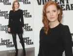 Jessica Chastain In Saint Laurent - 'A Most Violent Year' London Photocall
