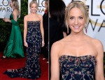 Joanne Froggatt In Marchesa - 2015 Golden Globe Awards