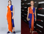 Joanne Froggatt In Roksanda - Entertainment Weekly's Party Honouring The SAG Nominees