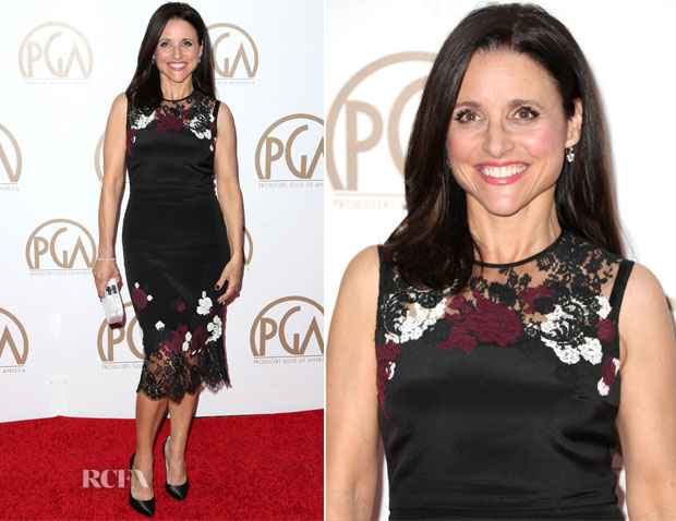 Julia Louis-Dreyfus In Erdem - 2015 Producers Guild Awards
