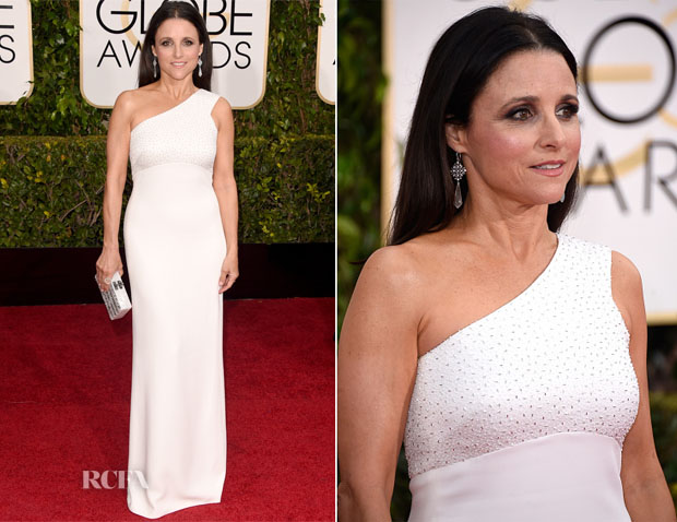 Julia Louis-Dreyfus In Narciso Rodriguez  - 2015 Golden Globe Awards