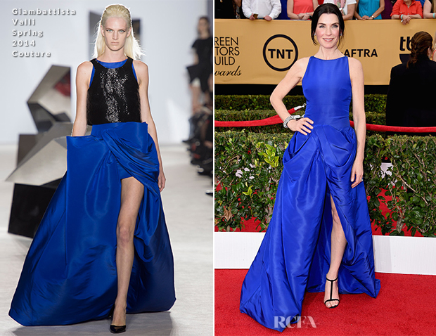 Julianna Margulies In Giambattista Valli Couture - 2015 SAG Awards