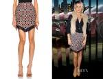 Julianne Hough's Sass & Bide Talking Voices Poly-Blend Skirt