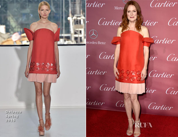 Julianne Moore In Delpozo - 26th Annual Palm Springs International Film Festival Awards Gala