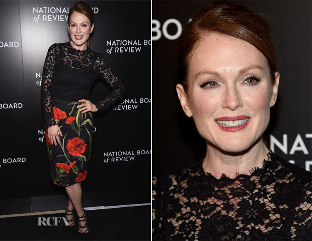 Julianne Moore In Dolce & Gabbana - 2014 National Board of Review Gala