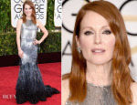 Julianne Moore In Givenchy Couture – 2015 Golden Globe Awards