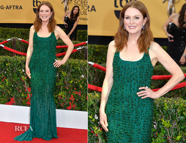 Julianne Moore In Givenchy Couture - 2015 SAG Awards 2