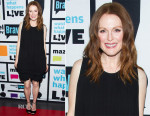Julianne Moore In Givenchy - Watch What Happens Live
