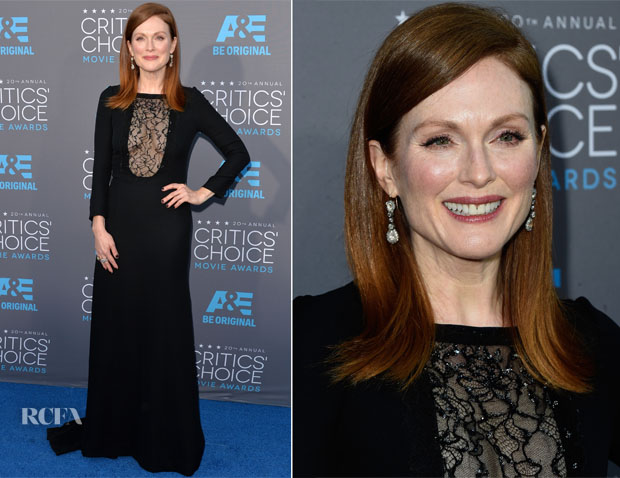 Julianne Moore In Saint Laurent - 2015 Critics' Choice Movie Awards