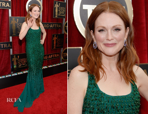 Julianne Moore In Givenchy Couture - 2015 SAG Awards