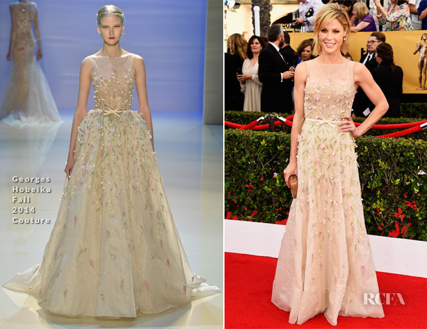 Julie Bowen In Georges Hobeika Couture - 2015 SAG Awards